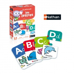 Jeu éducatif les lettres - Nathan