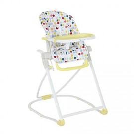 Chaise Haute Compacte Confetti - Badabulle