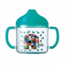 Tasse pour tout-petits Elmer avec deux anses