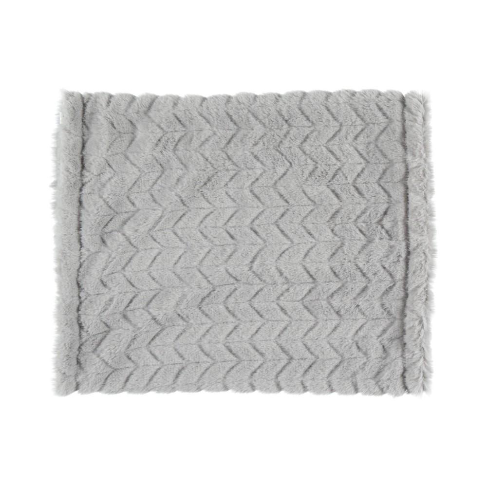 Tube écharpe gris en groloudoux - Noukies