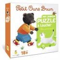 Mon premier puzzle à toucher - Les animaux - Petit Ours Brun - Bayard