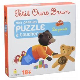 Mon premier puzzle à toucher - Les jouets - Petit Ours Brun