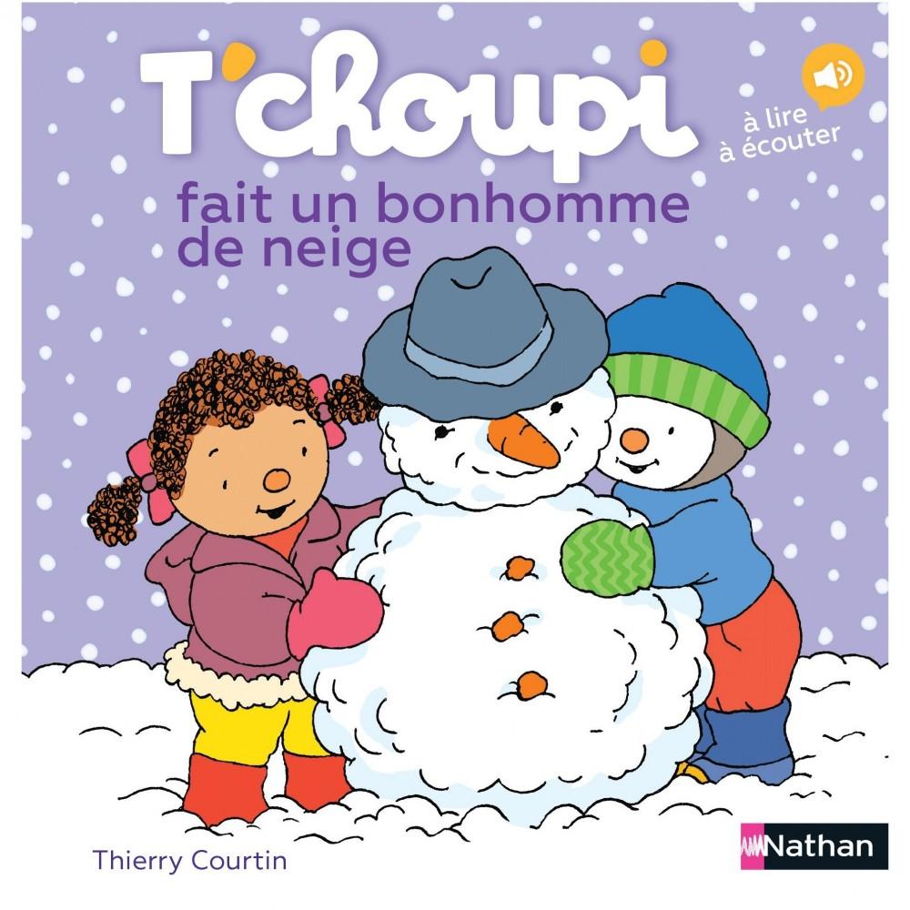 T'choupi fait un bonhomme de neige - Nathan