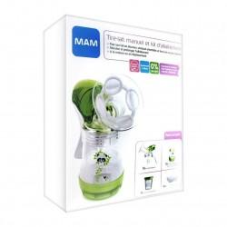 Tire-lait manuel et kit d'allaitement - MAM