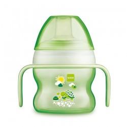 Tasse à bec souple 150 ml coloris vert - MAM 6093389