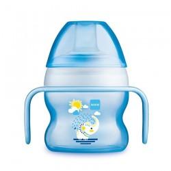 Tasse à bec souple 150 ml coloris bleu - MAM