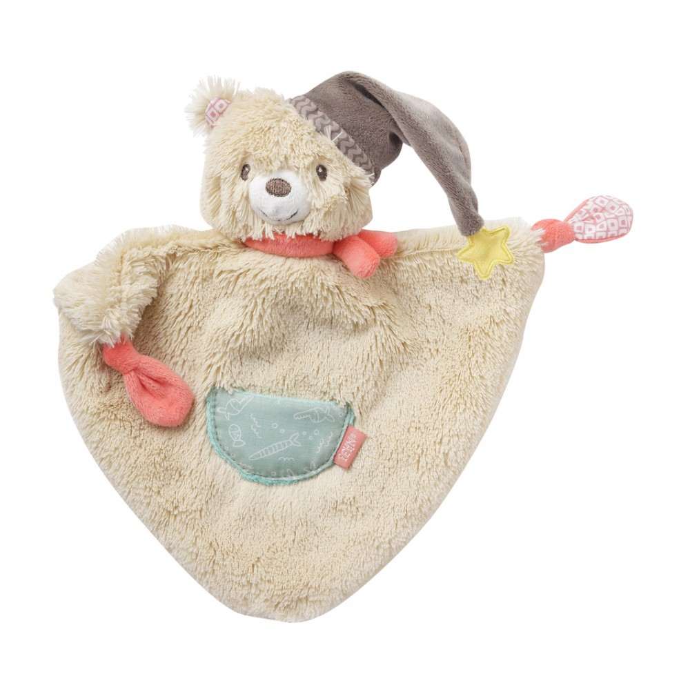 Doudou triangle Bruno 25 cm - Domiva