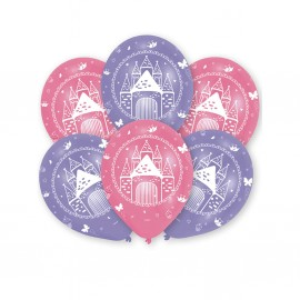 """Ballons gonflables """"Princesse"""" (lot de 6) - Amscan"""