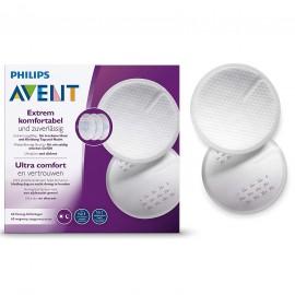 60 coussinets d'allaitement jetables - Avent