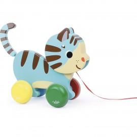 Marcel le chat à trainer - Vilac