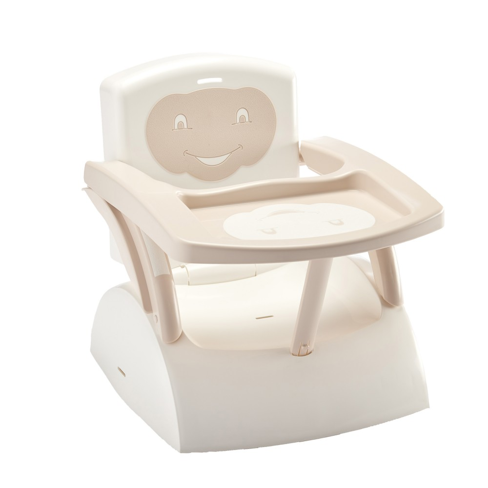Rehausseur Babytop marron glacé / blanc - Thermobaby