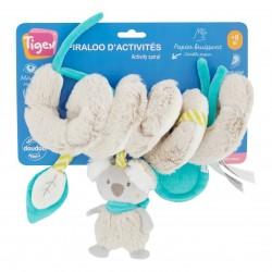 Spiraloo d'activité éveil de bébé Koala - Tigex