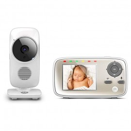 """Ecoute-bébé vidéo  avec écran 2,8"""" - Motorola"""
