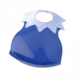 Bavoir arlequin récupérateur bleu - Thermobaby