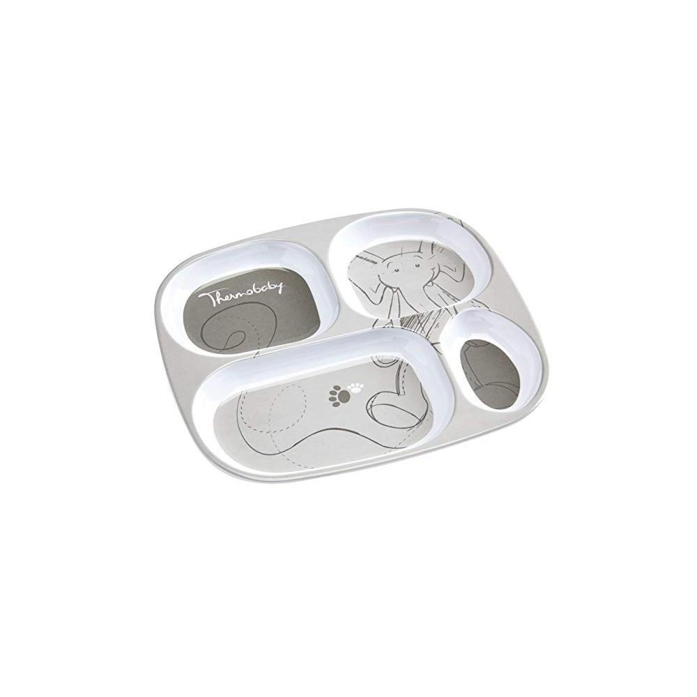 Assiette plateau à compartiments Savane - Thermobaby