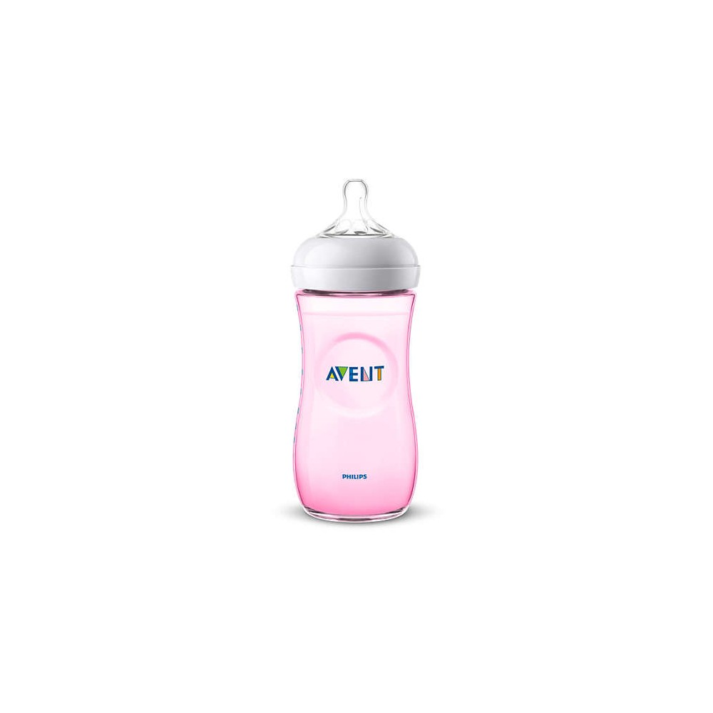 Biberon Natural rose 330 ml - Avent