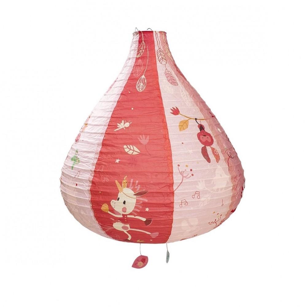 Lanterne montgolfière Louise la licorne - Lilliputiens