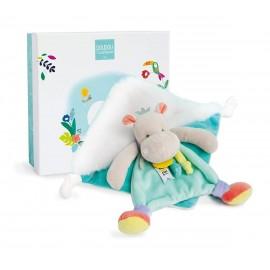 Doudou Hippo - Tropicool - Doudou et Cie