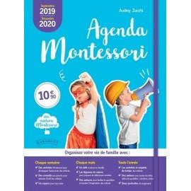 Agenda Montessori 2019/2020 - Audrey Zucchi - Marabout