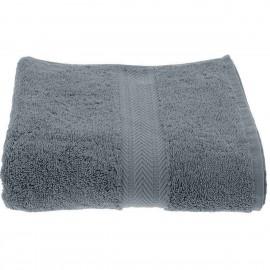 Serviette 50x100 cm 550gr coton Luxury Gris Galet - Sensei