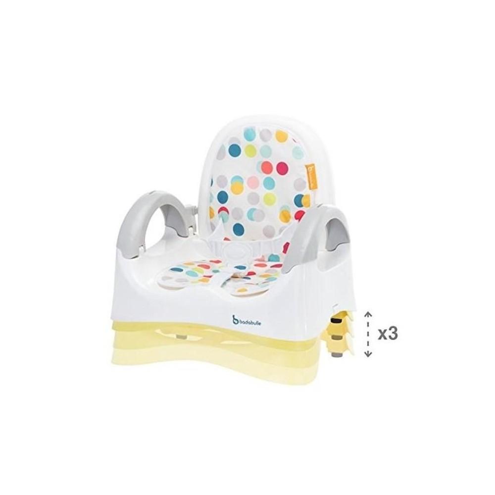 Rehausseur Confort confetti jaune - Badabulle