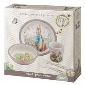 Coffret cadeau repas Pierre Lapin - Petit Jour Paris