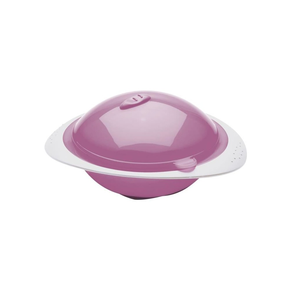 Bol micro-ondes rose - Thermobaby