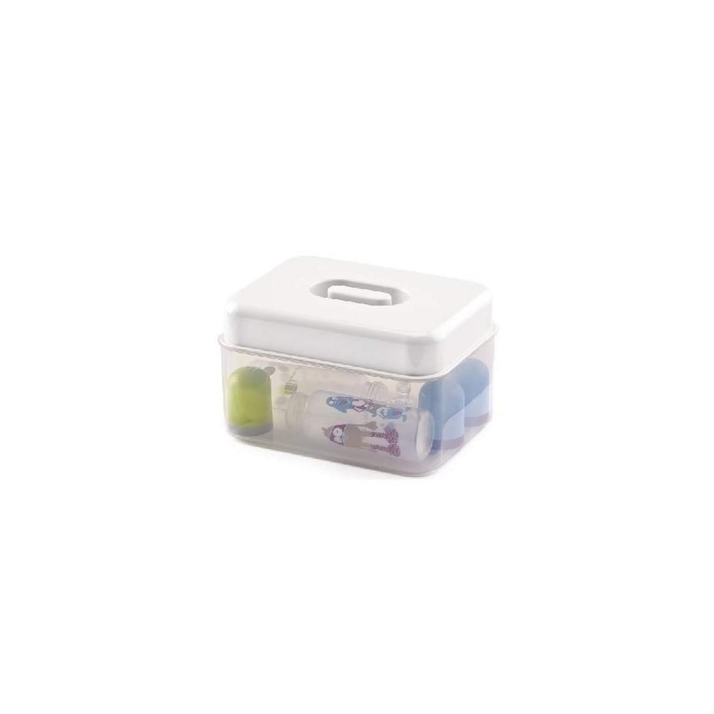 Stérilisateur micro-ondes Blanc Muguet - Thermobaby