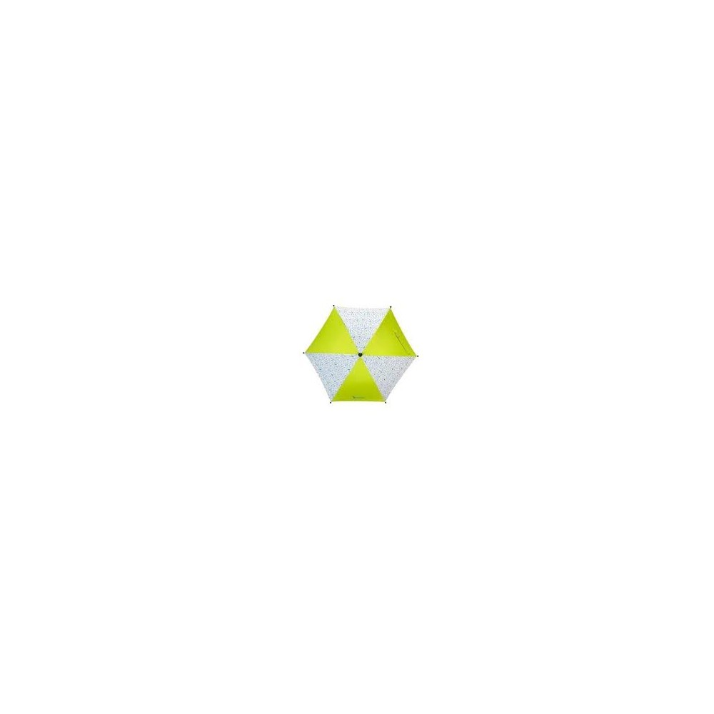 Ombrelle anti UV jaune - Badabulle