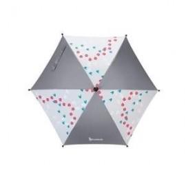 Ombrelle anti UV gris- Badabulle