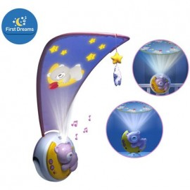 Mobile Next to Moon - Ourson rose - Chicco