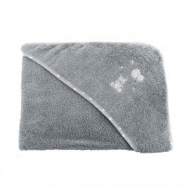 Cape de bain - Baby Soft Ourson - gris - Sensei