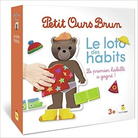 Le loto des habits de Petit Ours Brun - Bayard