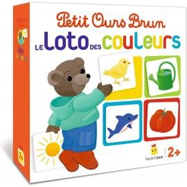 Le loto des couleurs de Petit Ours Brun - Bayard
