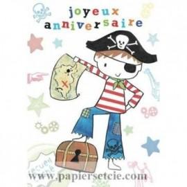 Mon Anniversaire de Petit Pirate