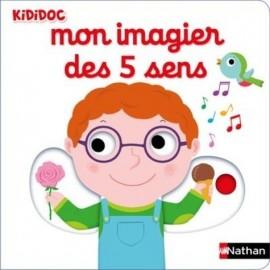 Livre - Mon imagier des 5 sens - Nathan