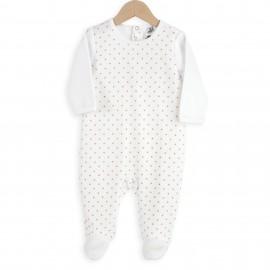 Pyjama Dors bien 12 mois - Pois - 3 kilos 7