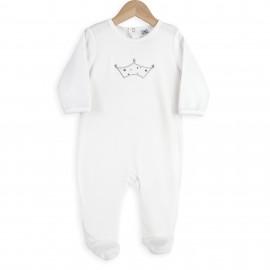 Pyjama Dors bien 12 mois - Couronne - 3 kilos 7