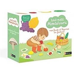 Coffret Fruits et légumes Tout petit Montessori - Nathan