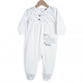 Pyjama Dors bien 12 mois - Licorne - 3 kilos 7
