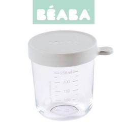 Portion 250 ml - VERRE - coloris Light Mist - Béaba