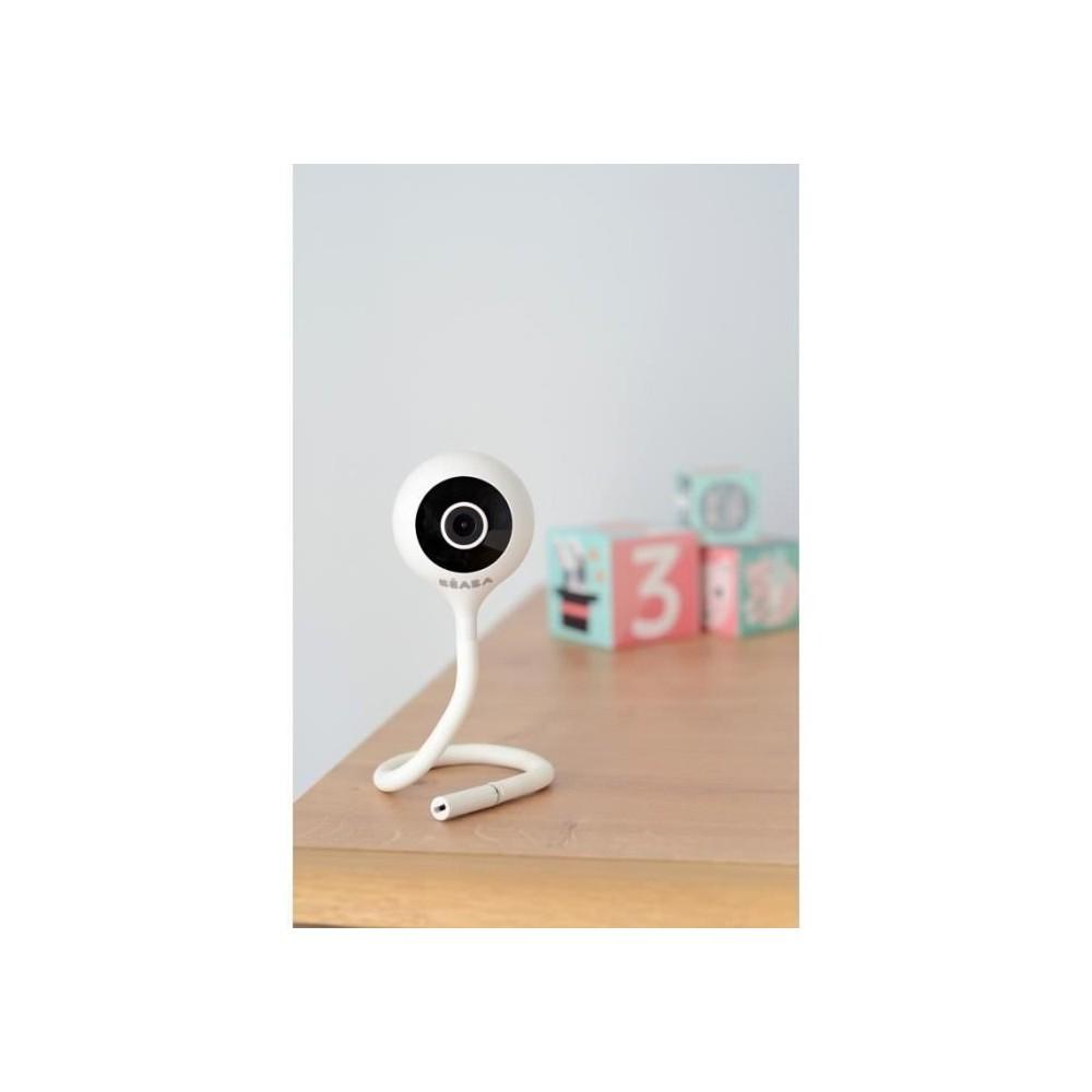 Écoute bébé vidéo ZEN Connect - Blanc - Béaba