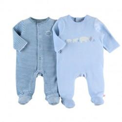 Dors-bien Velours Smart Boy - Coton - 12 mois / Hiver - Noukies Z080371