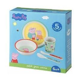 Coffret cadeau repas Peppa Pig - Petit Jour Paris