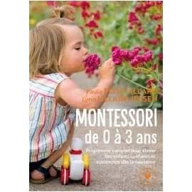 Montessori de 0 à 3 ans - Paula Polk Lillard - Marabout