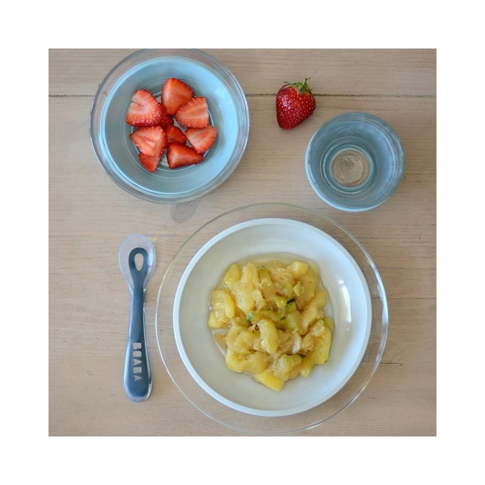 Coffret repas en verre - Jungle - Béaba et Duralex