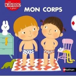 """Livre animé Kididoc """"Mon corps"""" - Nathan"""
