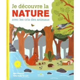 Je découvre la nature - Livre CD - Rue des Enfants