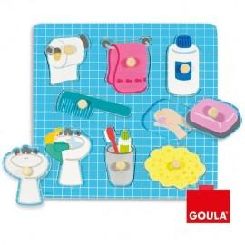 Puzzle à encastrement thème Bain - 53032 Goula