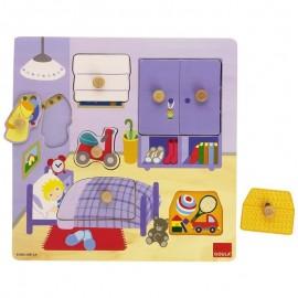 Puzzle à encastrement thème Dodo - 53034 Goula